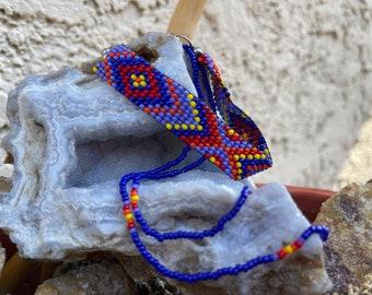 Walk Toward the Sunset Melungeon Pride Loom Beaded Jewelry Set