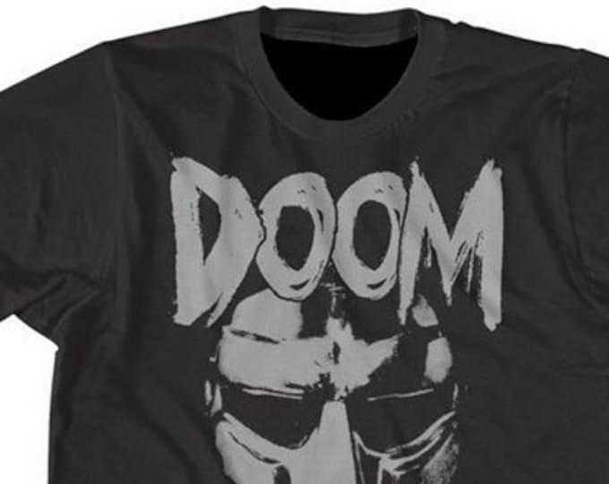 MF DOOM mens shirt printed on ultra soft cotton