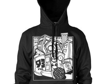 93 Til Infinity Hoodie by Graphic Villain