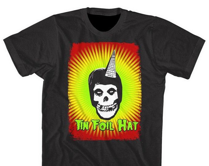 Tin Foil Hat Skull
