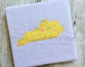 Kentucky applique etsy