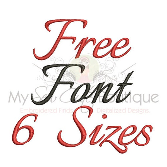 Free Machine Embroidery Font Monogram Alphabet, Free Embroidery Fonts, Free Machine Embroidery Designs, Monogram Embroidery Fonts PES