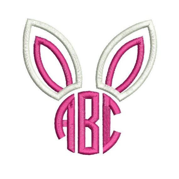 monogram bunny ears embroidery design ekenasfiber johnhenriksson se u2022 rh ekenasfiber johnhenriksson se