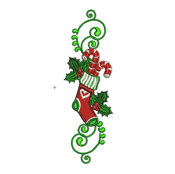 Embroidery Design Christmas Embroidery Machine Embroidery Etsy