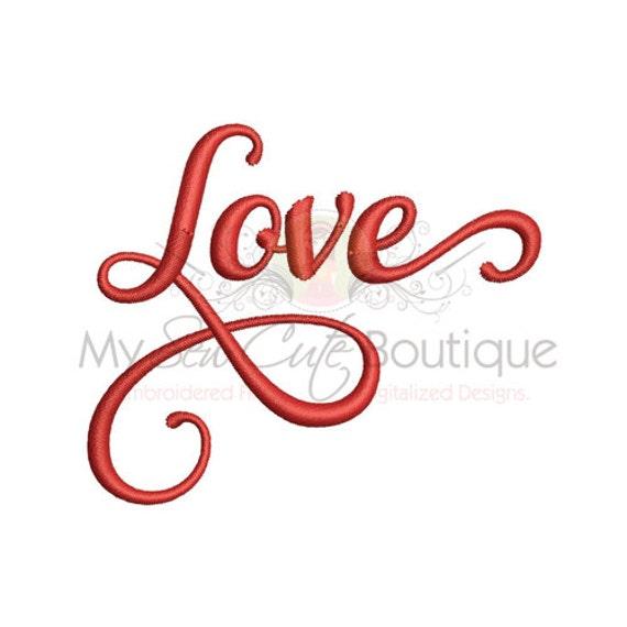 Love Embroidery Designs Valentine Machine Wedding Patterns Etsy