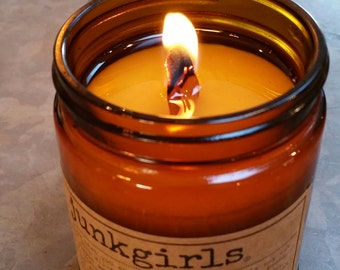 JunkGirls Signature Scent Soy-Wax Candle with Wood Wick