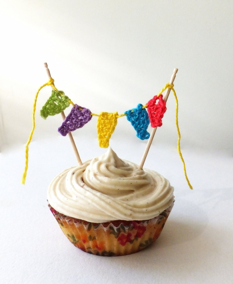 Birthday Cake Topper Kids Party Cupcake 1st