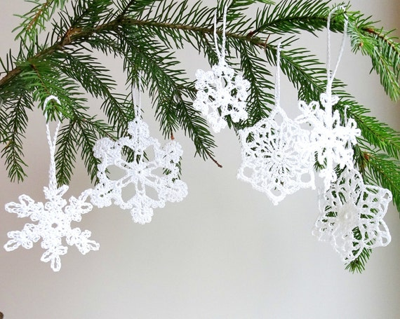 Christbaumschmuck Set Urlaub Ornamente Hakeln Etsy