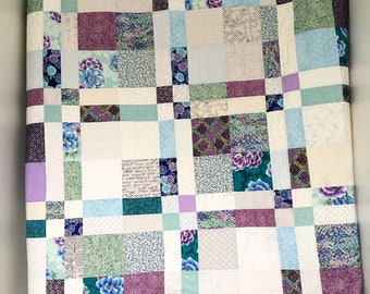 Quilt Pattern for Charm Packs, Easy Modern Beginner Quilt PDF Quilt Pattern, Chichester Quilt Digital Download