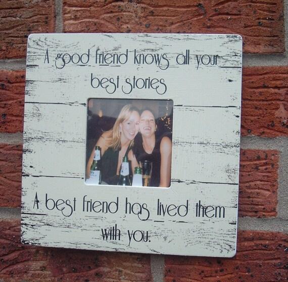 Mejores amigos foto marco buen amigo mejor amigo marco de