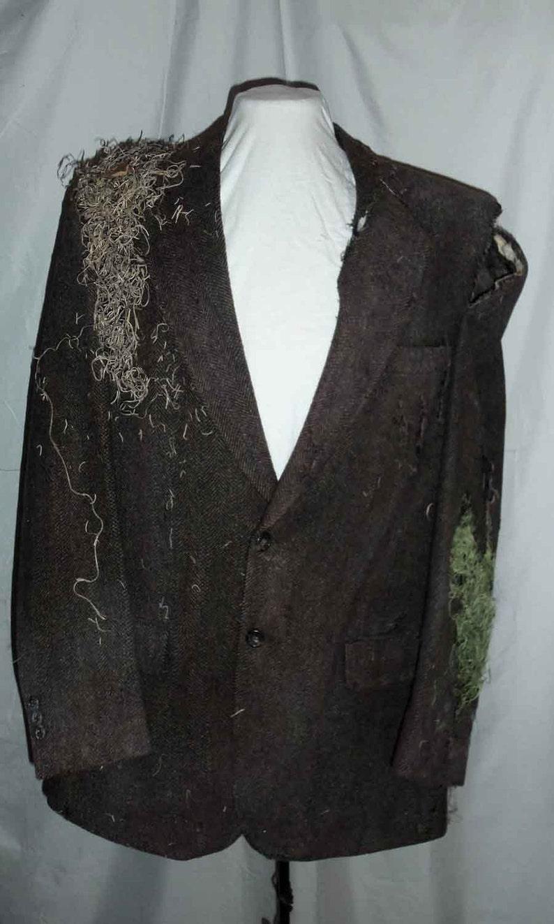 One of a Kind Halloween Custom Designed Handmade Distressed image 0