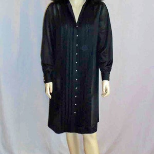 Vintage 1940s Mens Black Textured Tuxedo Suit by Marty Walker New York