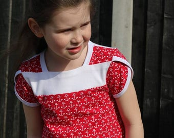Tulip Trio - PDF pattern & tutorial - NB-12y - Girl - By LittleKiwis Closet