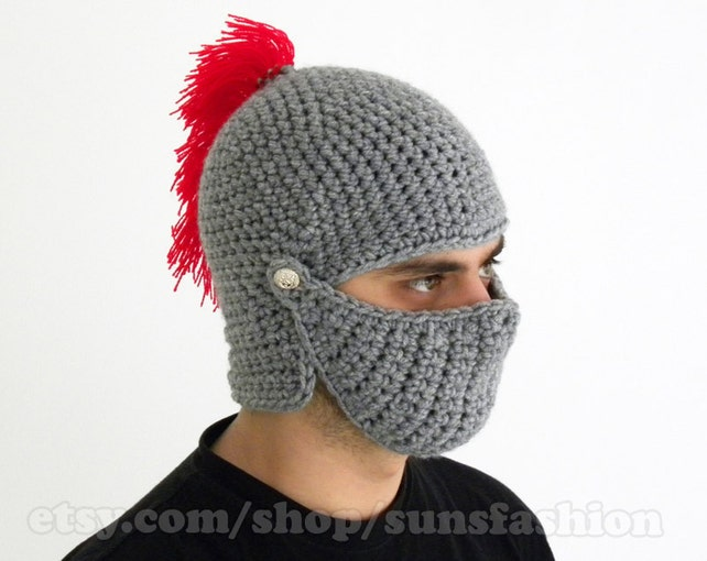 boyfriend gift mens gift FREE SHIPPING Knight Helmet Hat bane   Etsy