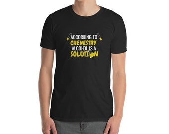 Funny Alcohol Chemistry T-Shirt