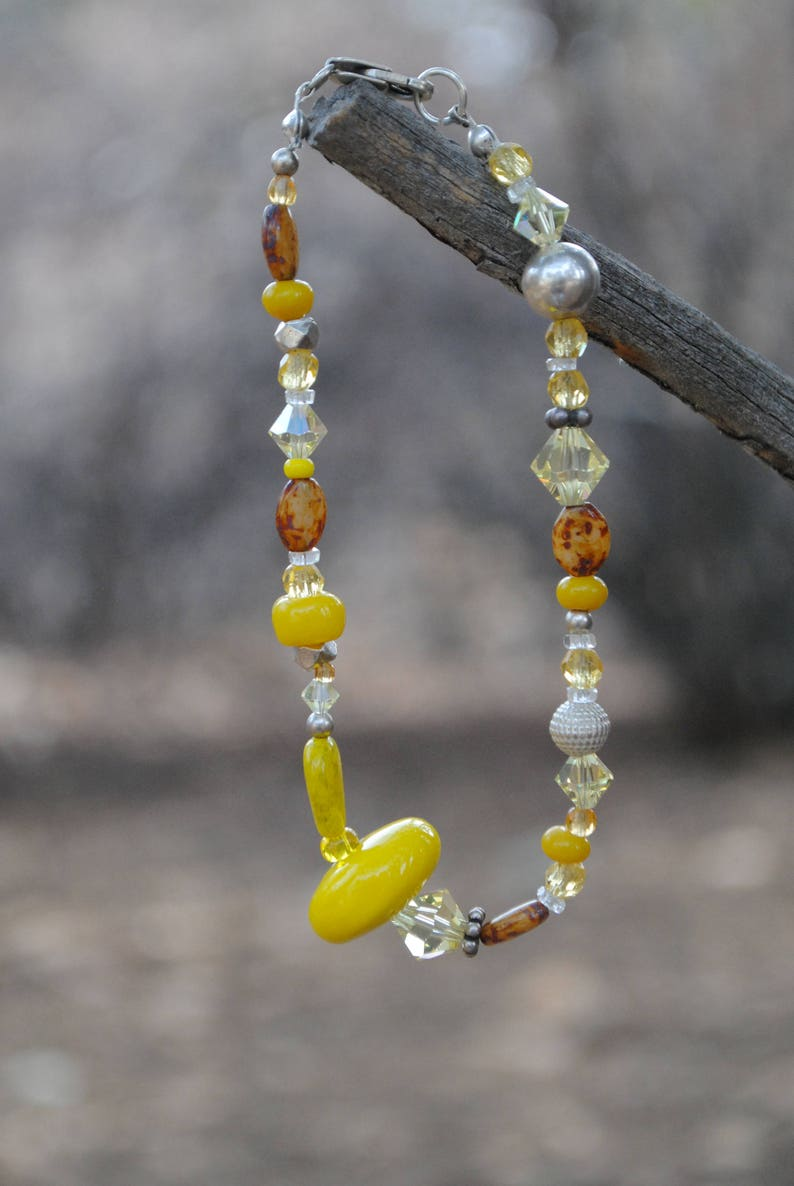 They Call Me Mellow Yellow Large Bracelet image 0