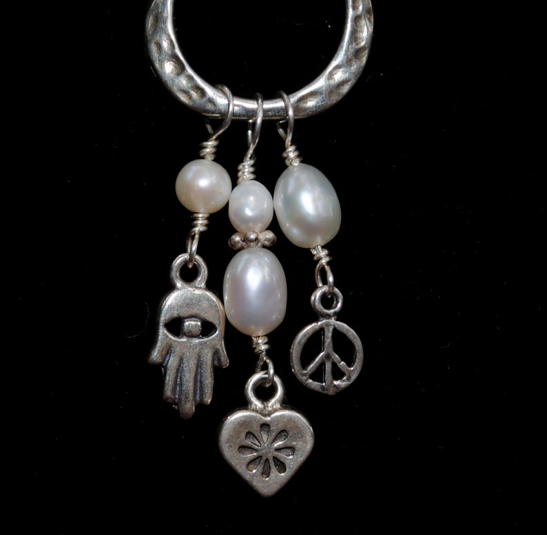 Peace Love and Friendship necklace image 0