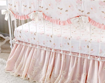 Lace Crib Skirt Etsy