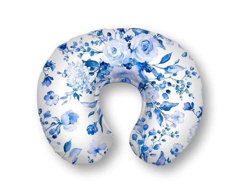 White Crib Bedding Blue and White Roses Nursery Bedding and Decor Indigo Blue Roses Baby Bedding Set