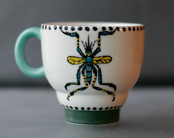 BUG OUT WARE Topsy Turvy Coffee Mug:Mosquito- State Bug