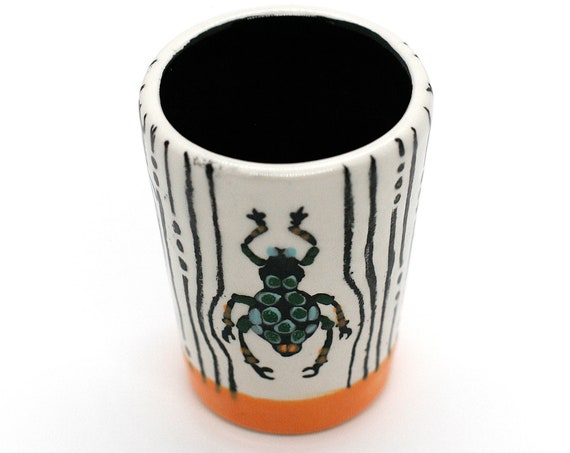 BUG OUT WARE-Signature Shot Glass: Spideriffic!