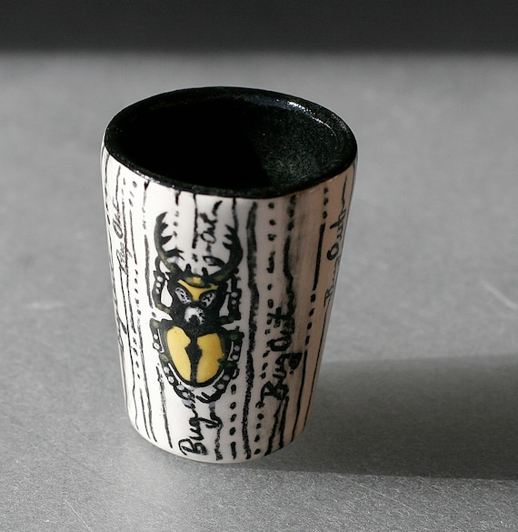 BUG OUT WARE- Signature Shot Glass 5