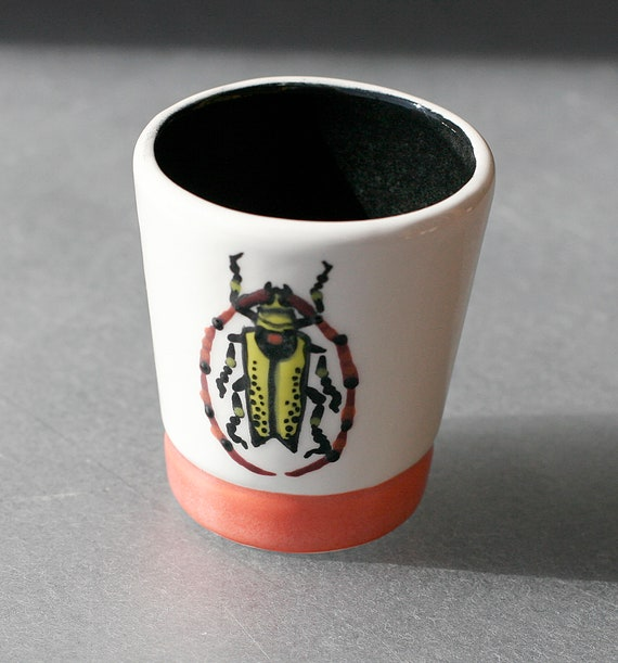 BUG OUT WARE- Shot Glass #3 Orange