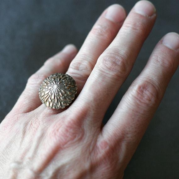 Bronze Blossom Ring