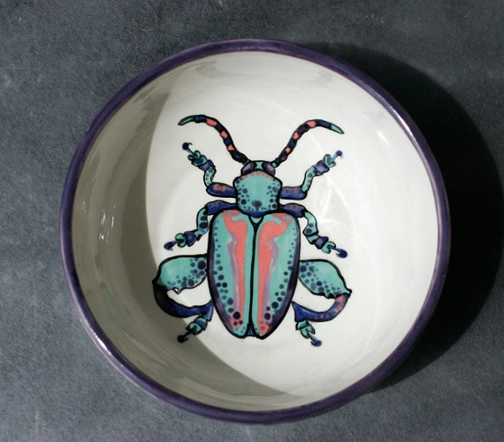 BUG OUT WARE- Rainbow Bug with Power Thighs Bowl