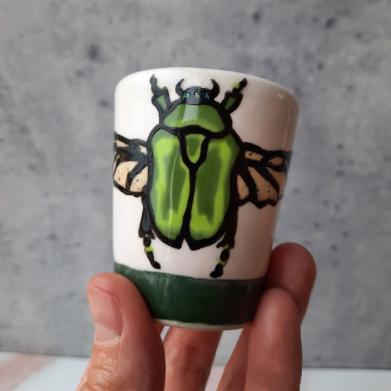 BUG OUT WARE- Great Winged Beetle of Oz Shot Glass