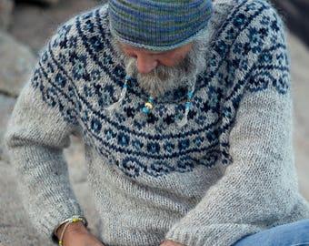Knitting Pattern - Steinkriger - Beautiful Norwegian Sweater  - Instant Digital Download - PDF - Pattern