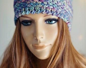 Knitting Pattern - Boho Headband - Instant Digital Download - PDF