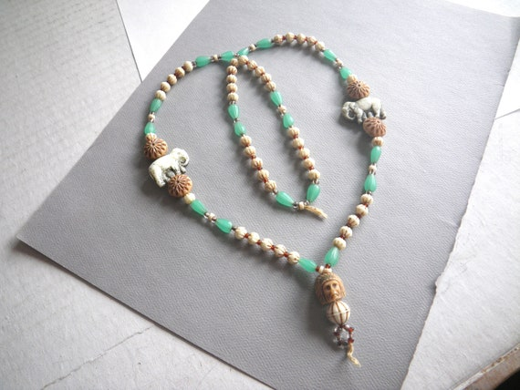 1930s Neiger Necklace, As Is for Repair, Czech Pre