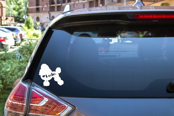 "Laptops etc Rear Choke Vinyl Decal /""Sticker/"" For Car or Truck Windows"