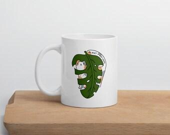 Plant + Cat Lady Mug, plant lady, cat lady, mug, coffee cup