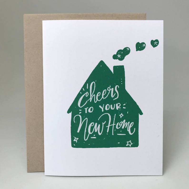 Cheers to Your New Home Card Congratulations to Your New image 0