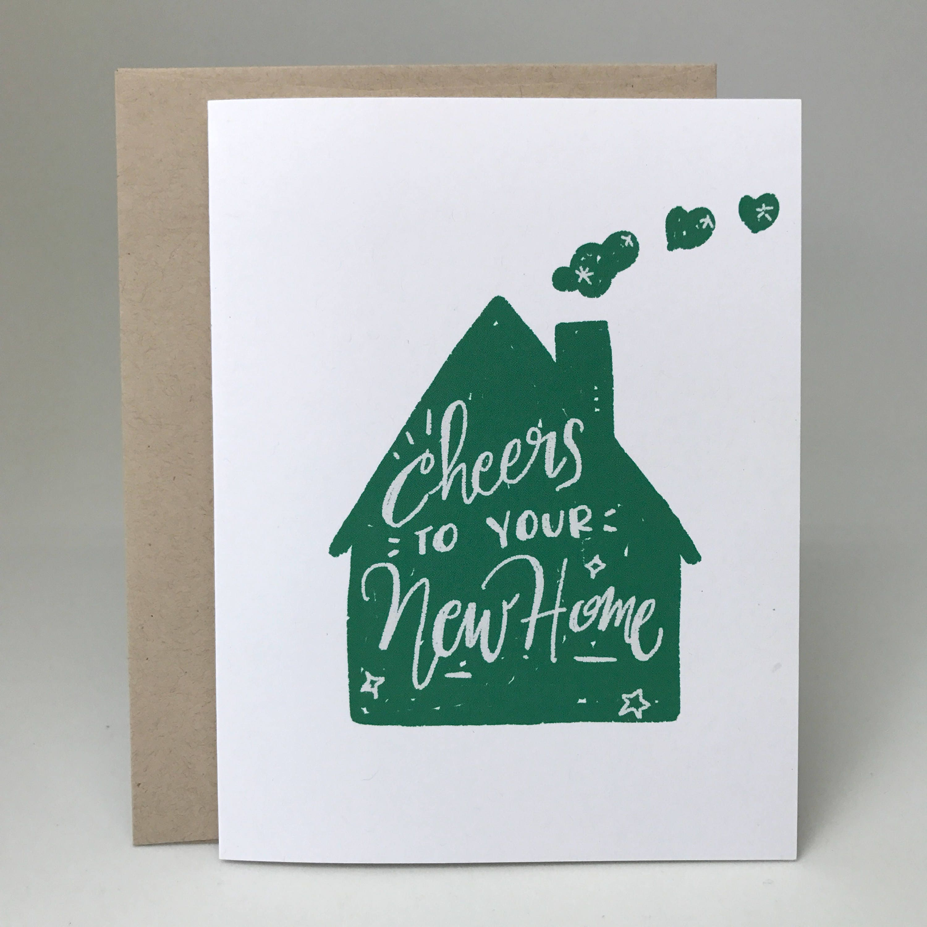 Cheers To Your New Home Card Congratulations To Your New Etsy