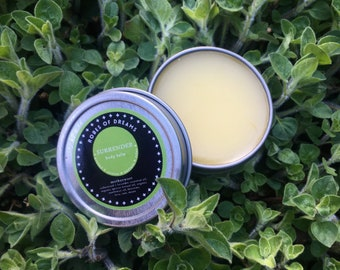 SURRENDER - Motherwort Body Balm - lavender, cedarwood, relaxing, grounding, rest, massage oil