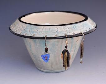 Ceramic Earring Holders - Ceramic Earring Organizers - Storage and Organization-  Earring Holders - Jewelry Organizer-Ceramic Gifts