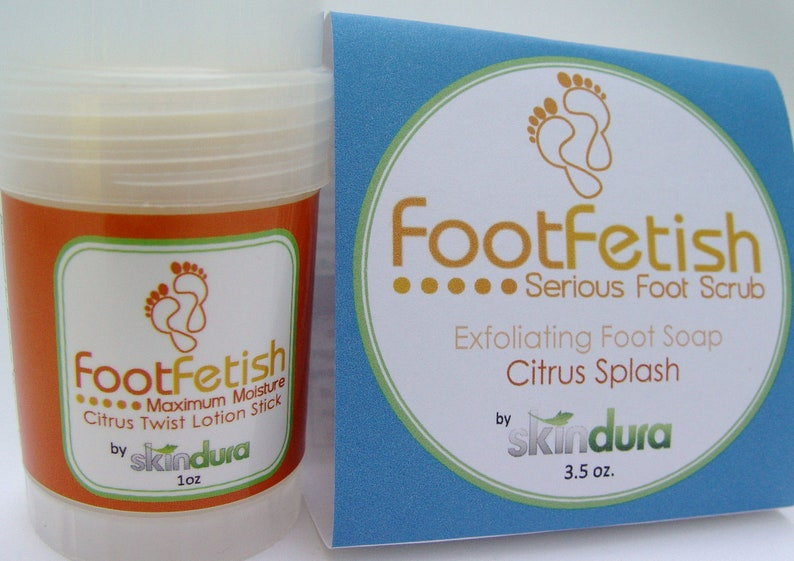 FootFetish Combo Kit    Say Goodbye to Dry Rough Feet image 0