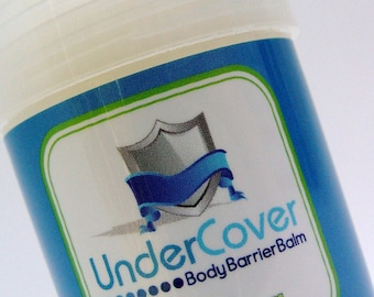 Under Cover Body Barrier Balm for clothing and athletic equipment irritation - Friction Fighter Balm