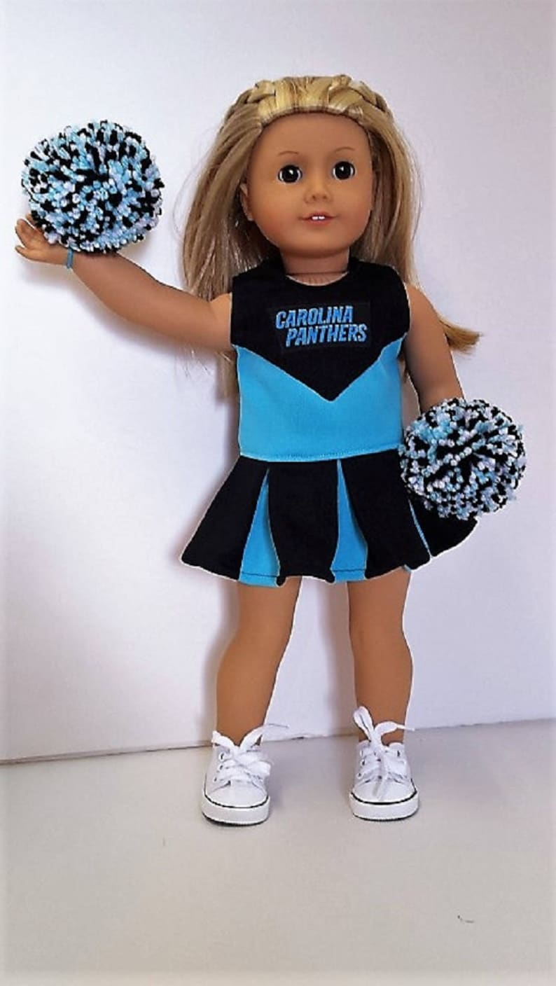 219a22291 Carolina Panthers Cheerleader Pom Poms Shoes for American