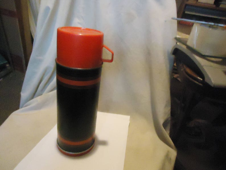 Vintage Topsall Thermos Bottle By Aladdin No 3350, collectable
