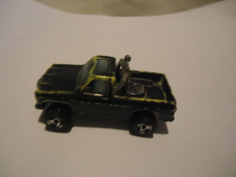 Vintage 1979 Hot Wheels Ecology Recycle Center Truck Toy by Mattel,  collectable, made in Malaysia