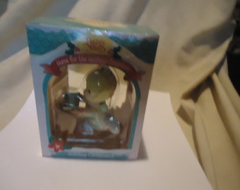 Vintage 1995 Precious Moments  Holiday Ornament Home For The Holiday's With Box by Enesco, collectable