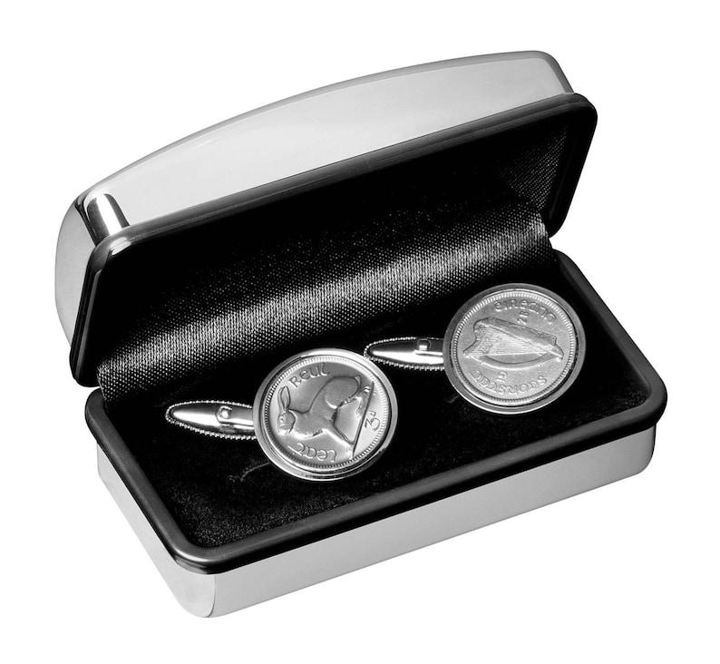 1953 Irish Gift Lucky Irish rabbit Coin Cufflinks 100/% satisfaction 66th Birthday Gift 3 day delivery option
