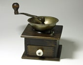 Vintage Coffee Grinder, Coffee Mill, W. H. Company Coffee Grinder - circa early 1900 39 s