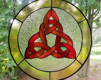 Summer Celtic Knot Panel