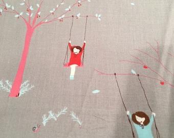 ONE YARD Moda Sherbet Pips Gray by Aneela Hoey