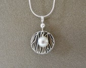 Pearl dish necklace...